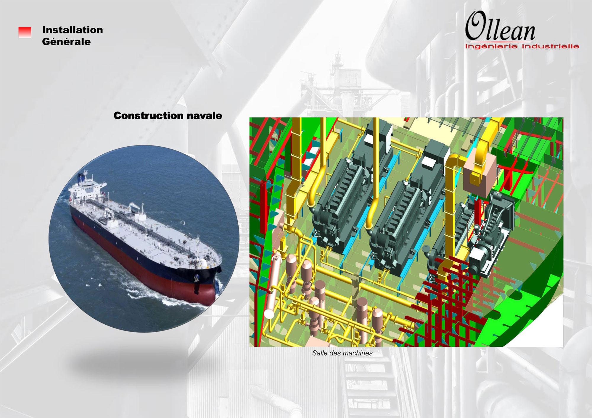 Installation générale - Construction navale