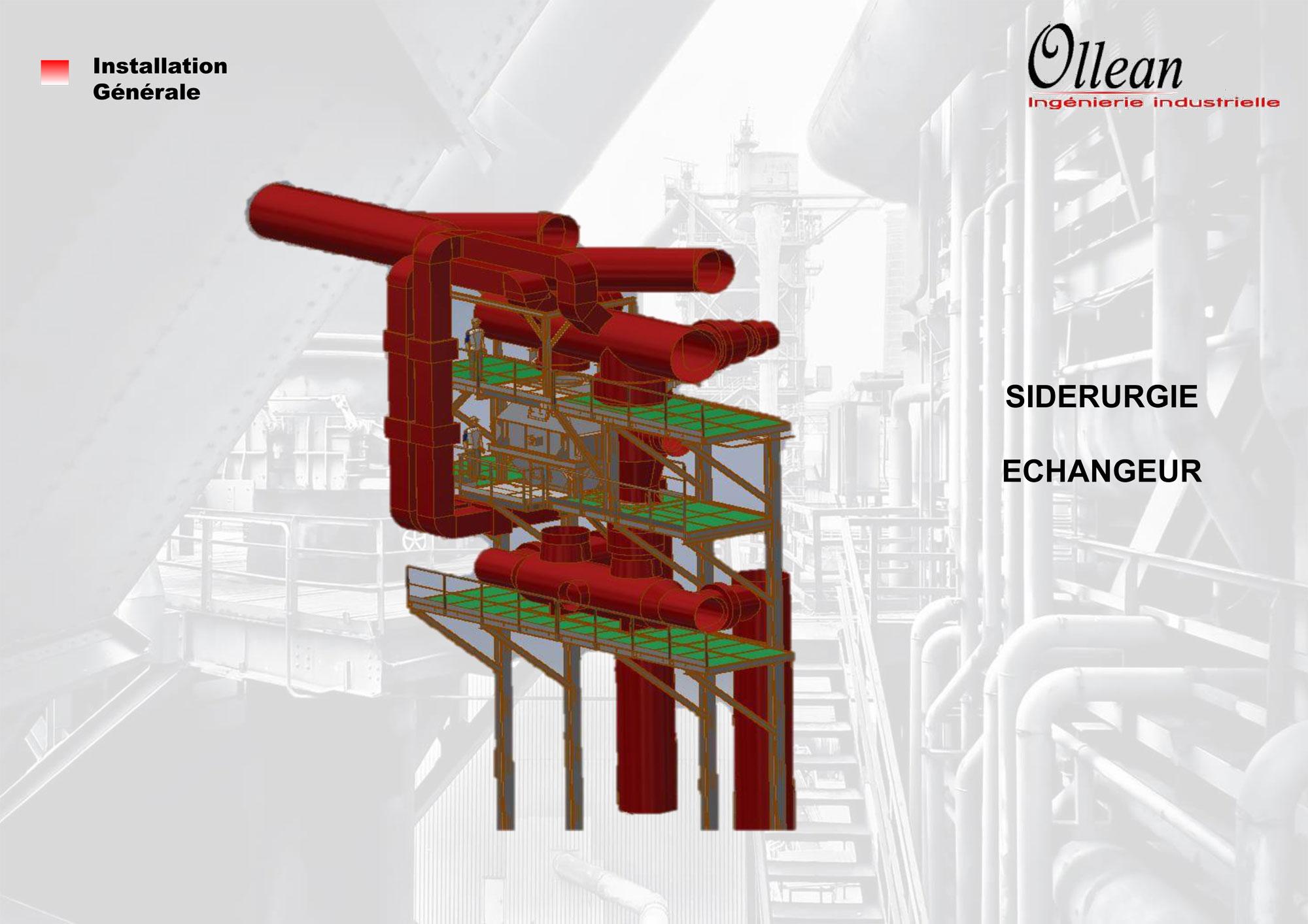 Installation générale - SIDERURGIE ECHANGEUR